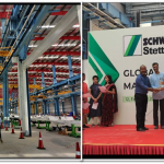 Schwing Stetter Global Manufacturing Hub Pooja